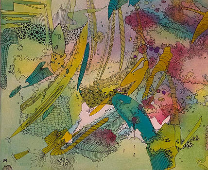 Doodles with Abstraction by Terry Holliday