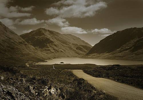 Jane McIlroy - Doolough Pass County Mayo Ireland Sepia
