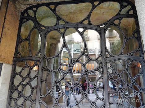 Door Gaudi by Geraldine Liquidano