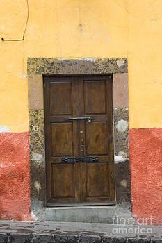 Oscar Gutierrez - Door in Colorful Wall