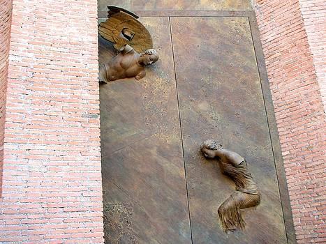 Door in Rome by Bonita Hensley