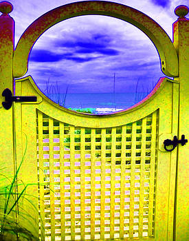 Door to the Gulf by Sandy Poore