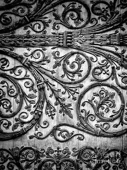 Door to the Notre Dame by Karen Lindale