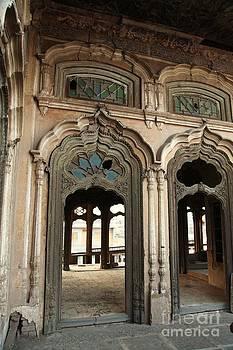 Doors and Windows - Umar Hayat Mahal by Murtaza Humayun Saeed