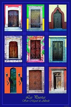 Doors of San Miguel by Britt Cagle