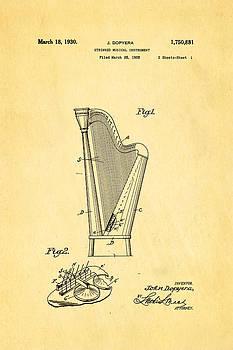 Ian Monk - Dopyera Harp Patent Art 1930