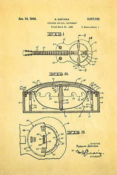 Ian Monk - Dopyera Resonator Guitar Patent Art 1936