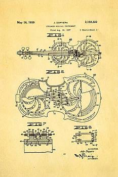 Ian Monk - Dopyera Resophonic Violin Patent Art 1939