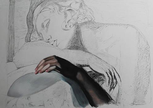 Dormeuse Sketch 2 by Miguel Rodriguez