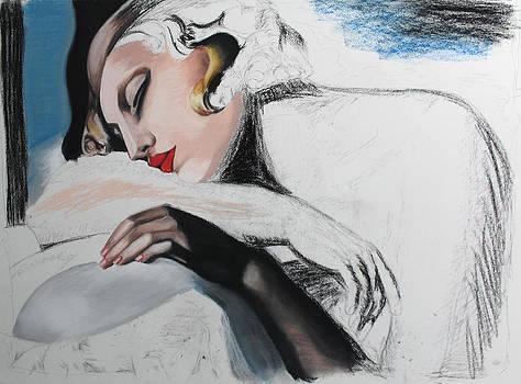 Dormeuse Sketch 3 by Miguel Rodriguez