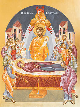 Dormition of the Theotokos by Julia Bridget Hayes