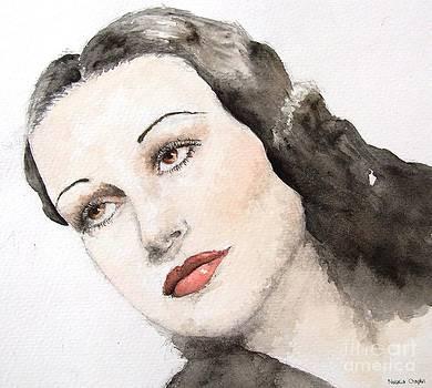 Dorothy Lamour by Natalia Chaplin