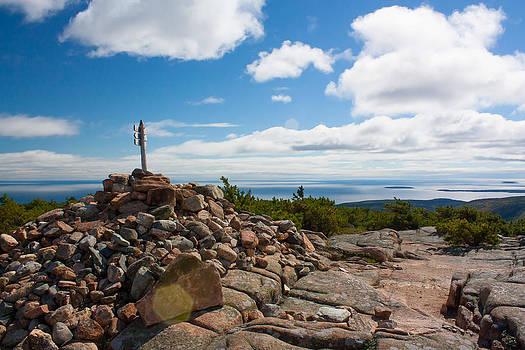 Dorr Mountain Summit - Acadia by Kirkodd Photography Of New England