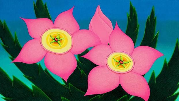 Dos Flores by Richard Dennis
