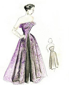 Purple Passion by Beverly Solomon Design