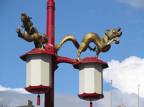 Alfred Ng - double dragon lanterns