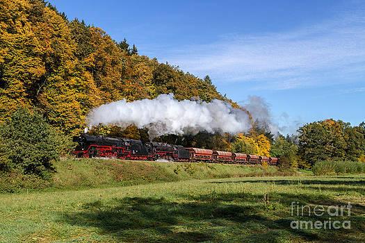 Double-heading steam power by Christian Spiller