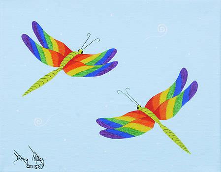 Double Rainbow 2 by Doug Miller