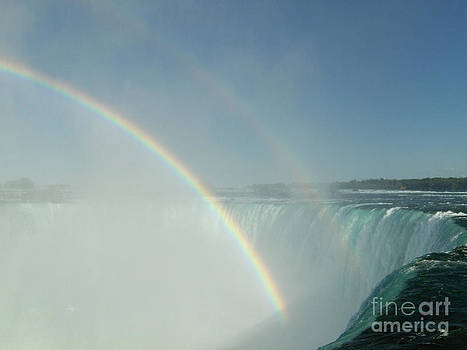 Double Rainbow by Brenda Brown
