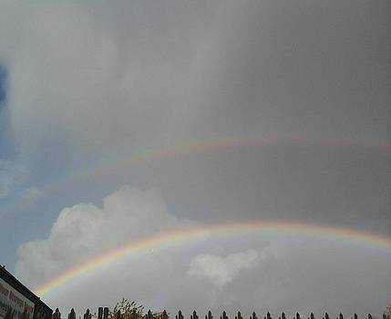 Double rainbow by Geoff Cooper