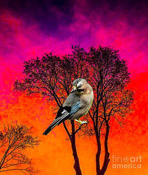 Algirdas Lukas - Double Tree With Bird