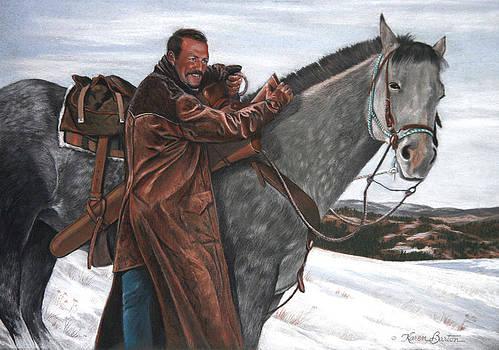 Doug Barton by Artist Karen Barton