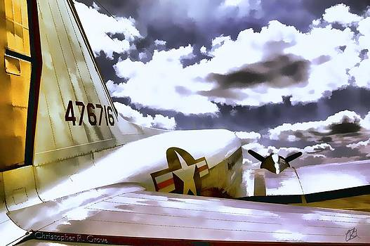 Douglas C-47 on the Tarmac by Christopher Grove