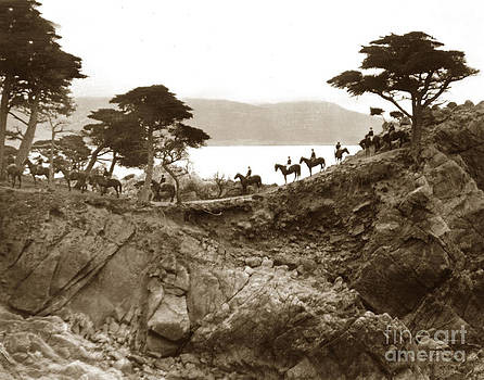 California Views Mr Pat Hathaway Archives - Douglas School for Girls at Lone Cypress tree Pebble Beach 1932