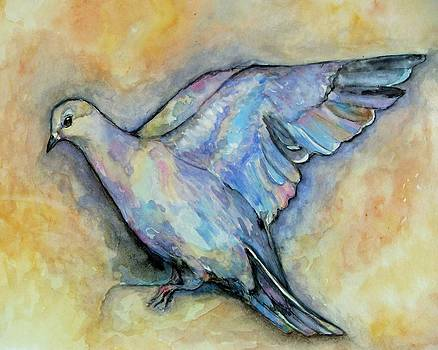 Dove Watercolor by Amanda Hukill