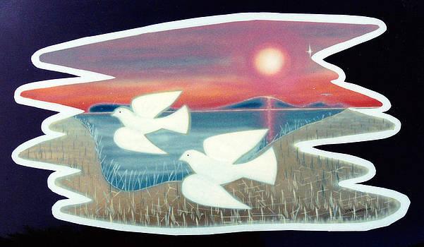Doves by Jason Girard