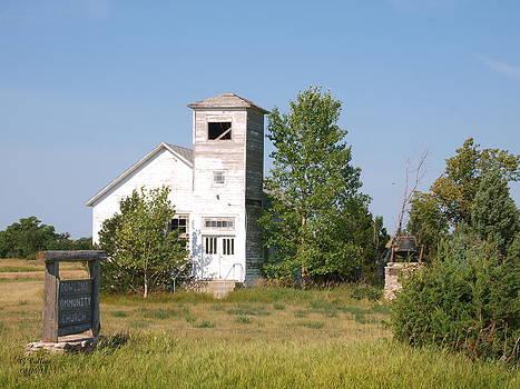 Dowling Community Church 2 by Gordon Collins