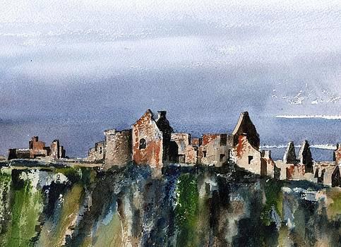 Val Byrne - DOWN  Dunluce Ruins