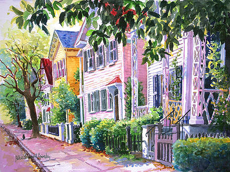 Down on Franklin Street by Alice Grimsley