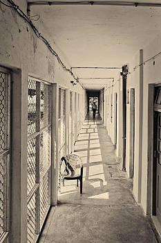 Kantilal Patel - Down the corridor to Garden Chair