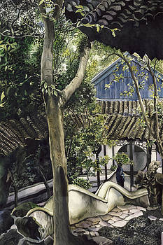 Alfred Ng - Down the garden path