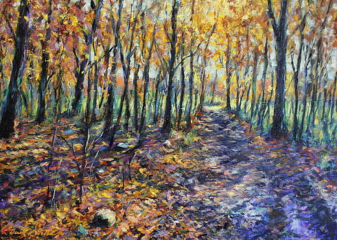 Down the path by Daniel W Green