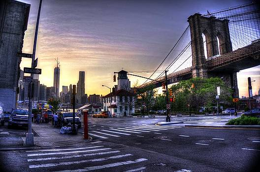 Down Town Brooklyn by Mark Alexander