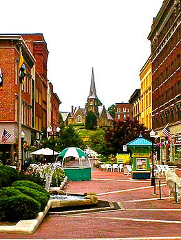 Down Town Cumberland by Bess Yearsley