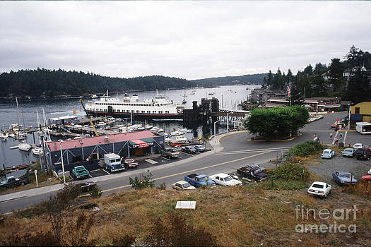 California Views Mr Pat Hathaway Archives - Downriggers restaurant Ferry Landing Friday Harbor San Juan Island 1989