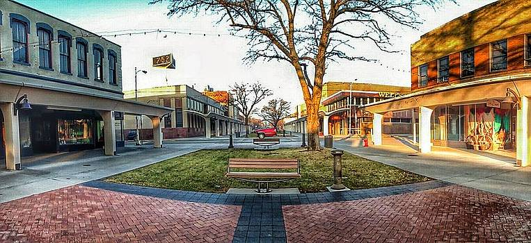 downtown Atchison panoramic by Dustin Soph
