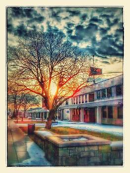 downtown Atchison sunrise by Dustin Soph