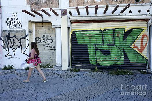 John  Mitchell - Downtown Cancun Graffiti