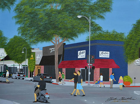 Downtown Chico by Clinton Cheatham