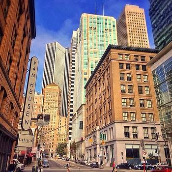 Downtown Daze... #sanfrancisco #sf by Karen Winokan