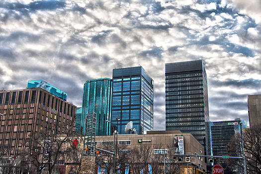 Downtown Edmonton by Loki Pestilence