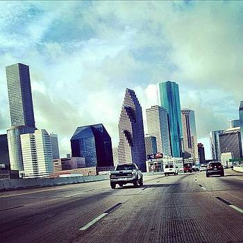 Downtown Houston by Lynda Harrison