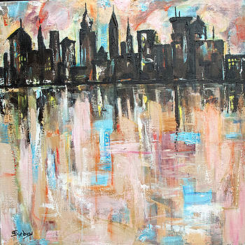 Downtown II by Sharon Sieben