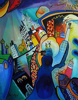 Downtown by Ken Caffey