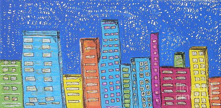 Downtown by Marcia Weller-Wenbert
