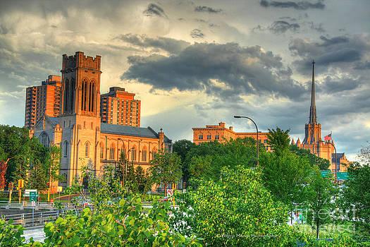 Wayne Moran - Downtown Minneapolis Skyline Saint Mark
